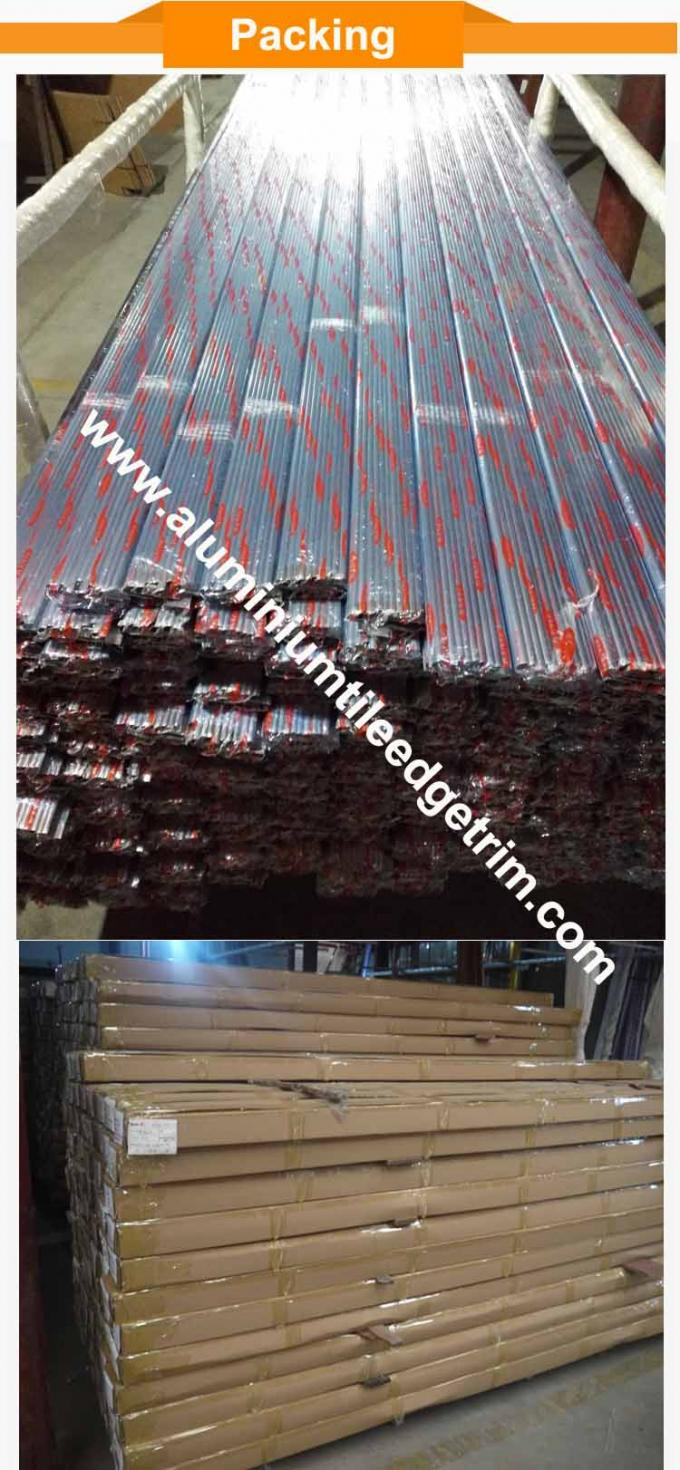 quadrant aluminium corner trim packing