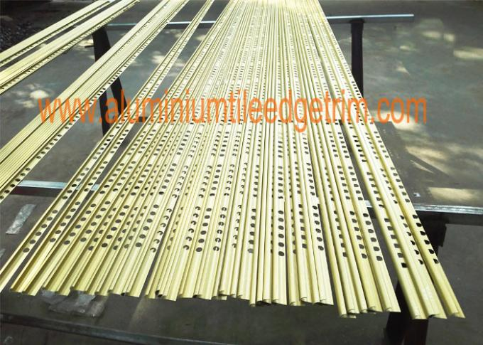 premium aluminium tile trim profile matt gold