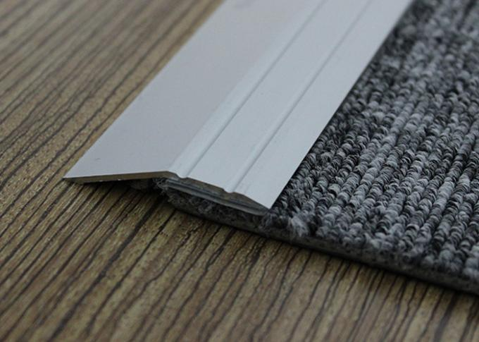 Sloped Aluminium Carpet To Laminate Cover Strip Anodized