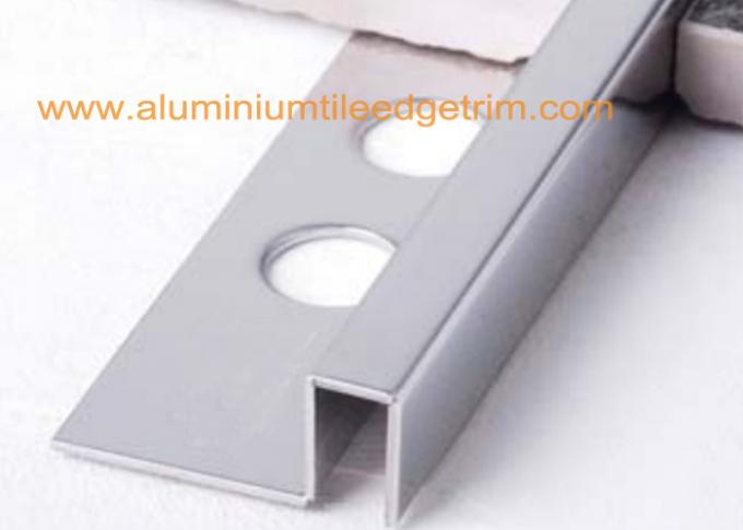 stainless steel square edge tile trim