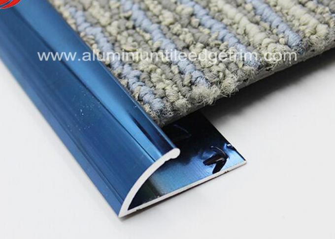 Black Aluminium Metal Carpet Transition Strip Edging