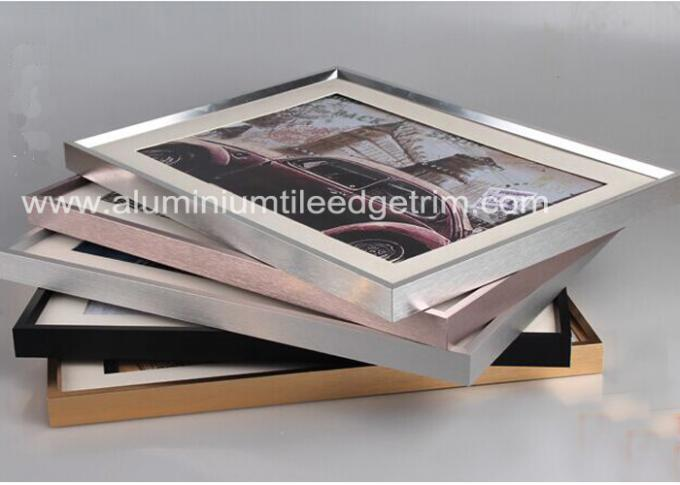 Customized Aluminium Picture Frame Mouldings Anodized