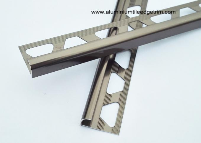 bronze bullnose edge tile trim