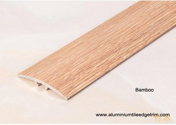 bamboo effect carpet to wooden floor transition trim