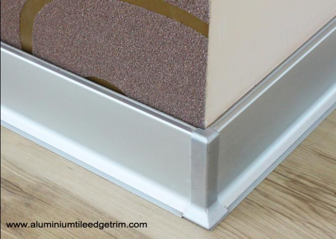 commercial aluminium skirting boards