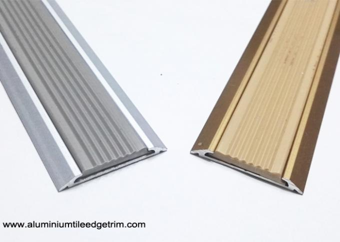 flat aluminium threshold strip
