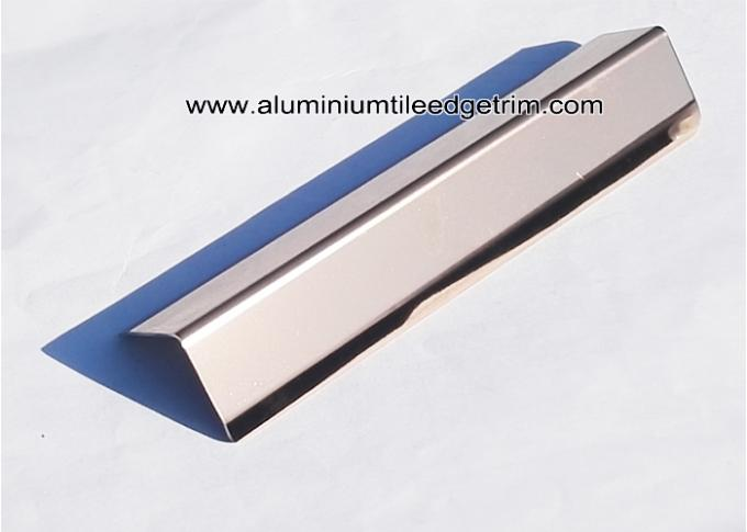 rose gold mirror effect stainless steel corner guards