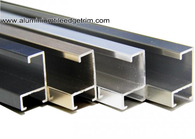 Anodized Metal Picture Frame Moulding For Certificates On Wall