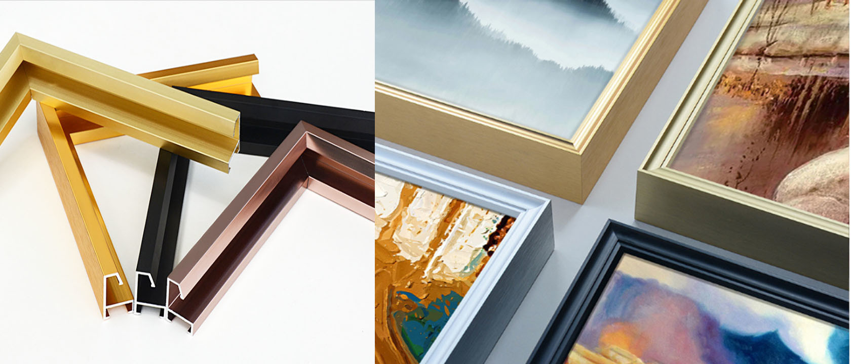 China best Aluminium Picture Frame Mouldings on sales