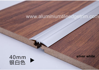 Modern Design Aluminium Floor Trims , Anodized Floor Tile Edge Trim For Steps