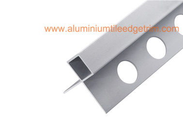 China Aluminium 6063 External / Exterior Tile Trim For External Corners supplier