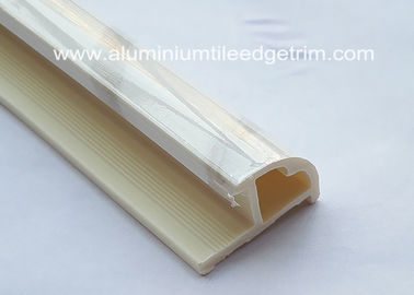 China Anti Corrosion Tile Corner Trim , Outside Corner PVC Beading For Tiles Different Colors supplier