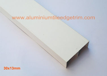 China Listello Border U Shaped Aluminium Profile Powder Coating Surface Customized supplier