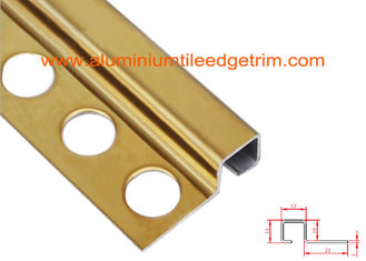 China Square Edge Tile Corner Trim / Bead Stainless Steel Protecting Ceramic Profile supplier