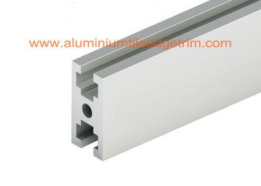 China White Silver Aluminium Door Frame Extrusions Profile 6M Length Customized Shape supplier