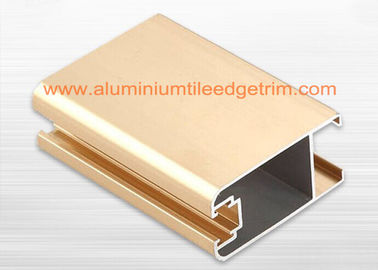 China Satin Anodized Aluminium Window Profiles , Aluminium Extrusion Profiles For The Windows supplier