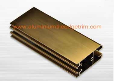 China Architecture Aluminium Window Profiles , Aluminium Sliding Windows Sections Profile supplier
