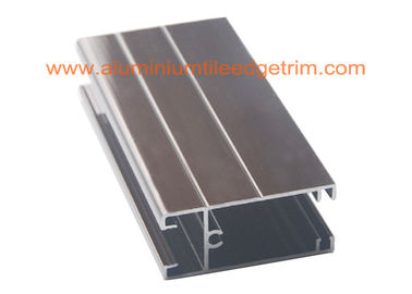 China Hollow Powder Coated Aluminum Door Frame Extrusions For Building Project supplier