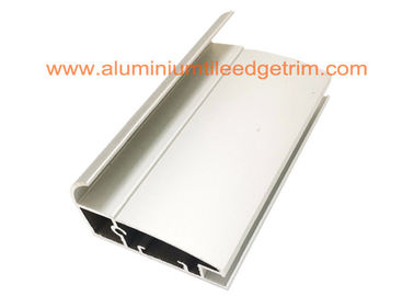 China T3-T8 Temper Aluminium Door Profiles , Aluminium Screen Door Extrusions Matt Silver supplier
