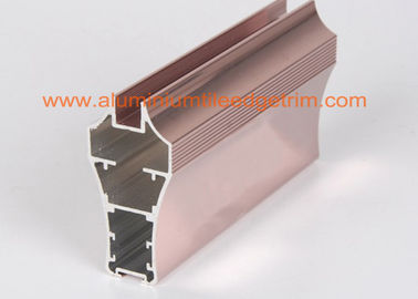 China Metal Aluminium Channel Extrusions Copper Anodized Furniture Application supplier