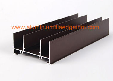China Curtain Wall Aluminum Extrusion Profiles , Extruded Aluminum Sections Different Surface Treatment supplier