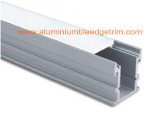 China Deep Recessed Extruded LED Strip Light Aluminum Channel Waterproof Long Lifespan supplier