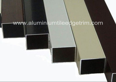 China Lightweight Extruded Aluminum Square Tube Powder Coating Corrosion Resistant supplier