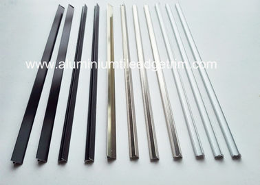 China T Shaped Aluminium Metal Border Tile Edge Trim For Composite Panel Wall supplier