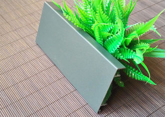 China Grey Aluminium Skirting Board Profiles Powder Coating Anti Wear 0.8mm Thickness supplier