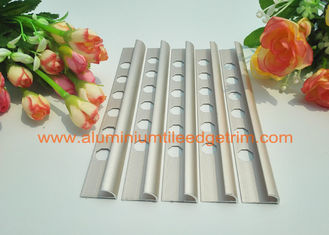 China Metal Round Aluminium Tile Edge Trim for Decorative Bathroom supplier