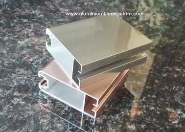 China Durable Aluminium Door Frame Profile With Electrophoresis Surface treatment supplier