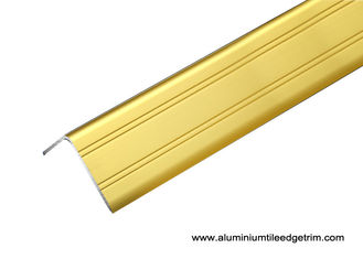 Floor Decking Aluminium Angle Edge Trim 2.7m Length Or Customized
