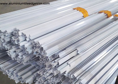 China Powder Coating White Aluminium Fixed Window Extrusion Profiles Strong Wind Resistance supplier