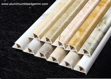 China Cappuccino / Carrara / White Marble Effect Tile Trim With Thermal Transfer Printing supplier