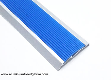China Rubber Anti Slip Aluminium Floor Trims Front Door Threshold Self - Adhesive supplier