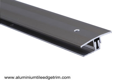 China Anodized Aluminium Floor Border Trims With Rail For Floor Expansion Joint supplier