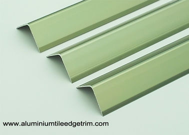 Anodized Champagne Aluminum Edge Protector 20 X 20 Mmm For Wall Corner