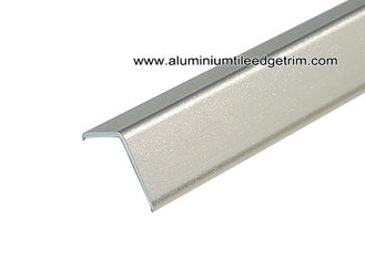 China Fast Installation 2.5m Length Aluminum Edge Protector With Sand Blasting Rose Gold supplier