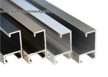 China Anodized Metal Picture Frame Moulding For Certificates On Wall supplier