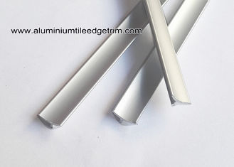China Matt Silver Inner Aluminum Decorative Corner Brace / Splint For Inside Corner supplier
