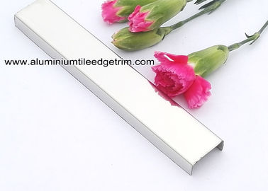 China U Shaped Stainless Steel Listello Tile Trim For Wall Dividing Decoration supplier