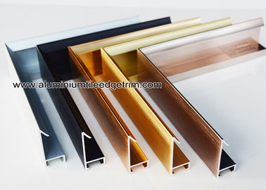 China Modern Design Aluminium Picture Frame Mouldings With Narrow Frame Border supplier