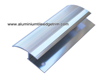 China Chrome Silver Carpet Reducer Transition Strip For Carpet And Tile Transition  supplier