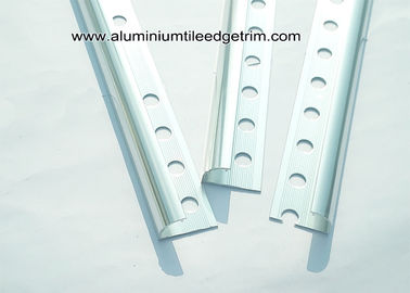 China Chrome Ceramic Tile Metal Corner Trim 12mm For Tile Accessories supplier