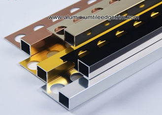 China Window Sill Cubic Square Wall Tile Trim Edging 10mm For Tile Border supplier
