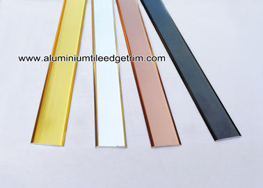 China Interior Decorative Aluminum / Metal Flat Bar / Strip With 20mm Width supplier
