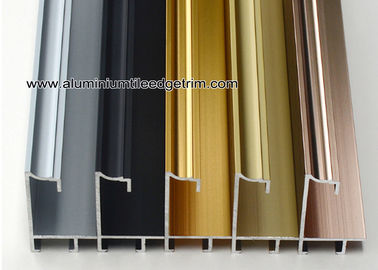 China Superior Aluminium Picture Frame Moulding Profiles With Concave Surface supplier