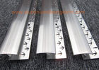China Aluminium Zig  Zag Carpet Door Bars / Strip / Trim Smooth Transition Good Hardness factory