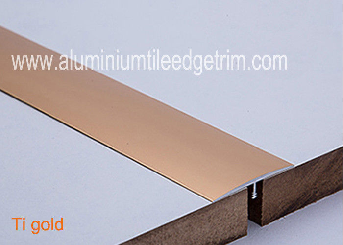 T Shaped Aluminium Floor Trims Metal Floor Edging Strip Gap