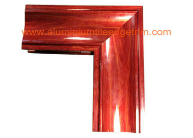 Crystal Beach Aluminium Door Profiles , Aluminum Door Frame Profile Wood Grain Effect